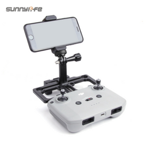 2-in-1 Remote Controller Mobile Phone Holder with Sun Hood Full Screen Smartphone Holder for Mavic Air 2/ Mini/ Pro/ 2/ Air