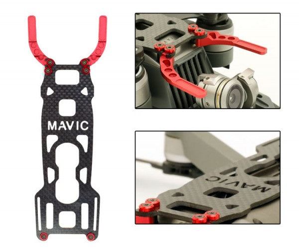 DJI Mavic Pro Aluminum Carbon Fiber Body Base and Camera Gimbal Protector Guard