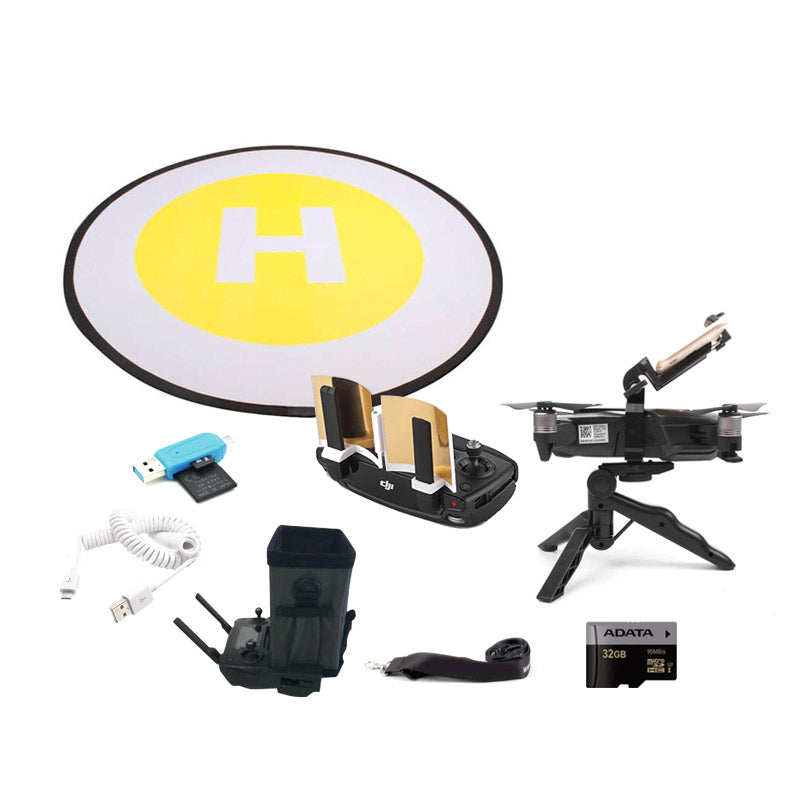DJI Mavic Air Gold Accessory Bundle