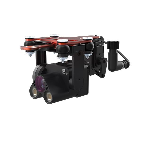 PL4-HS–Night Camera Spotlights and Payload Release for SplashDrone 3+
