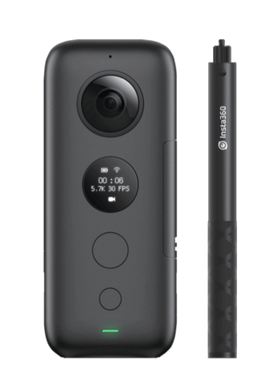 Insta360 ONE X (camera + selfie stick) excludes memory card