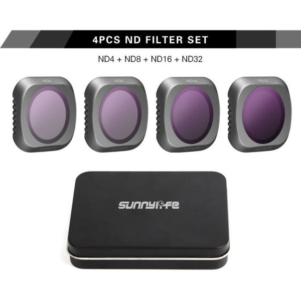 Sunnylife Mavic 2 Pro Filter Kit 4pk (ND4, ND8, ND16, ND32)