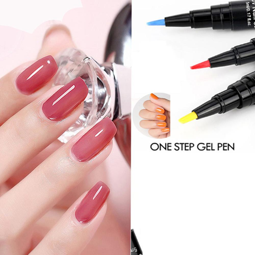 Long-Lasting One-Step Easy Gel Nail Polish Pen, in Lush Colors! – I ...