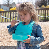 3 in 1 Silicone Bib with 3 Compartments