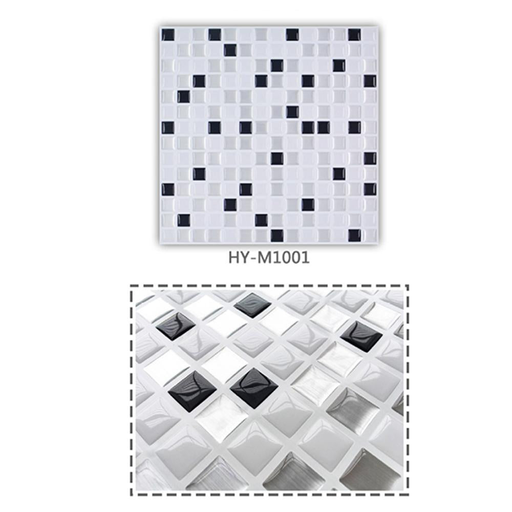 3D Peel and Stick Kitchen and Bathroom Brick Stickers, 3 Packs.