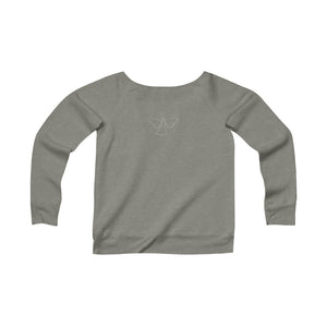 Almost an Angel - Women's Sponge Fleece Wide Neck Sweatshirt