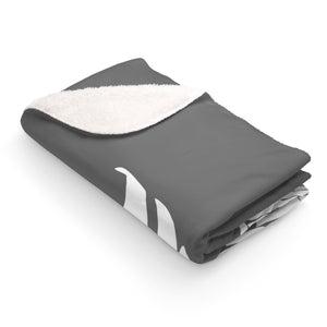 Grey Angel wing blanket - Harmaa enkelinsiipihuopa