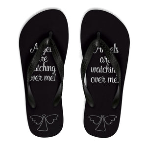Angels are watchinig me Unisex Flip-Flops