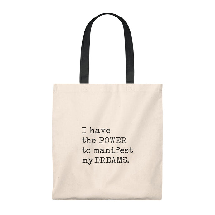 I have the Power to manifest Tote Bag - Vintage