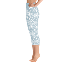 Snow flake leggings Capri - Lumihiutalelegginsit Capri
