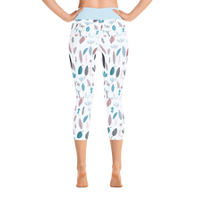Feather leggings Capri - Höyhenlegginsit Capri