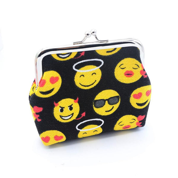 Happy Emoji Change Purse