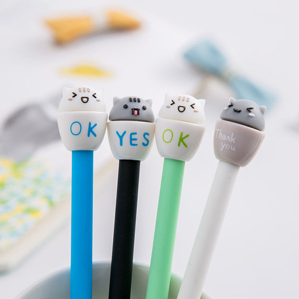 Happy Kitty Pen Set