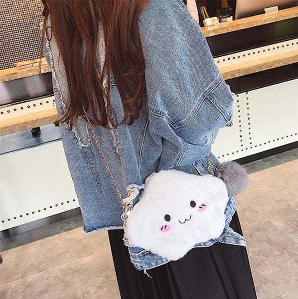 Fluffy Cloud Satchels