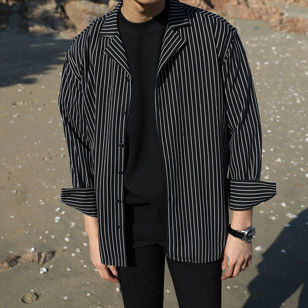 Pinstripe Long Sleeve