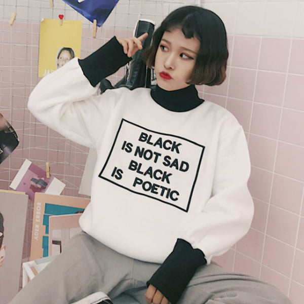 Poetic Darkness Sweater