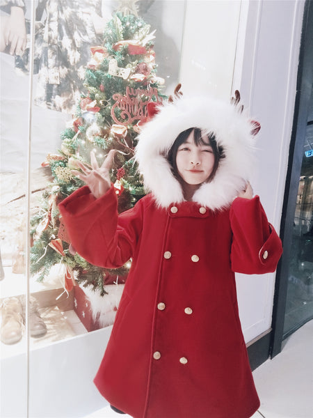 Christmas Reindeer Coat