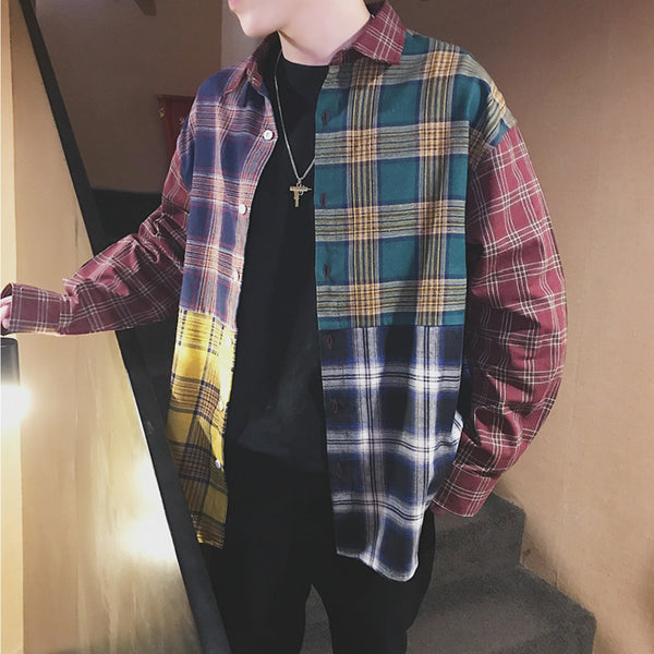 Multi-colour Flannel Shirt