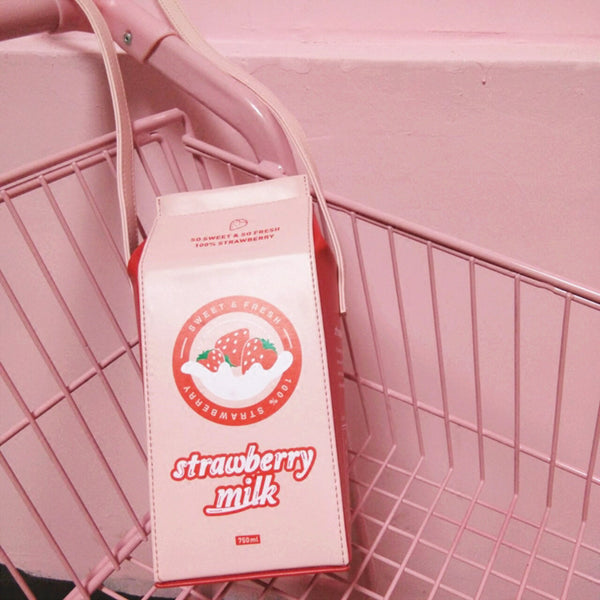 Strawberry Milk Pouch