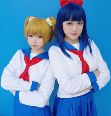 Pop Team Epic Pop and Pipi Cosplay