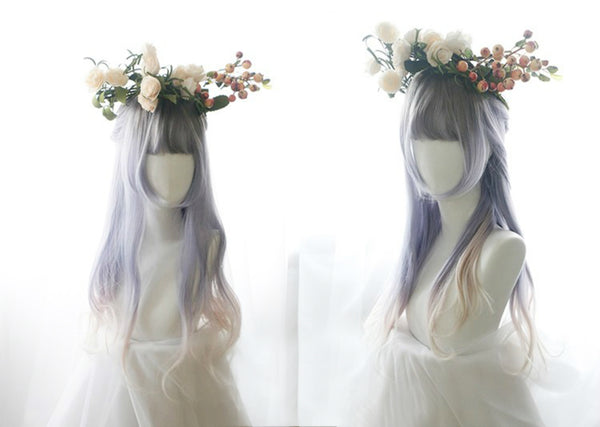 Tri-colour Gradient Wig