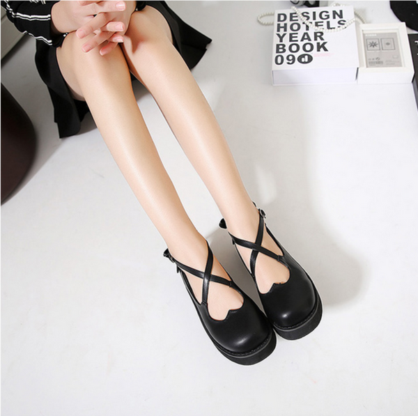 Love Strap Lolita Shoes