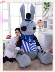 Giant Black Butler Funtom Rabbit Plush