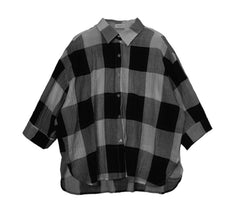Large Patch Flannel Shirt