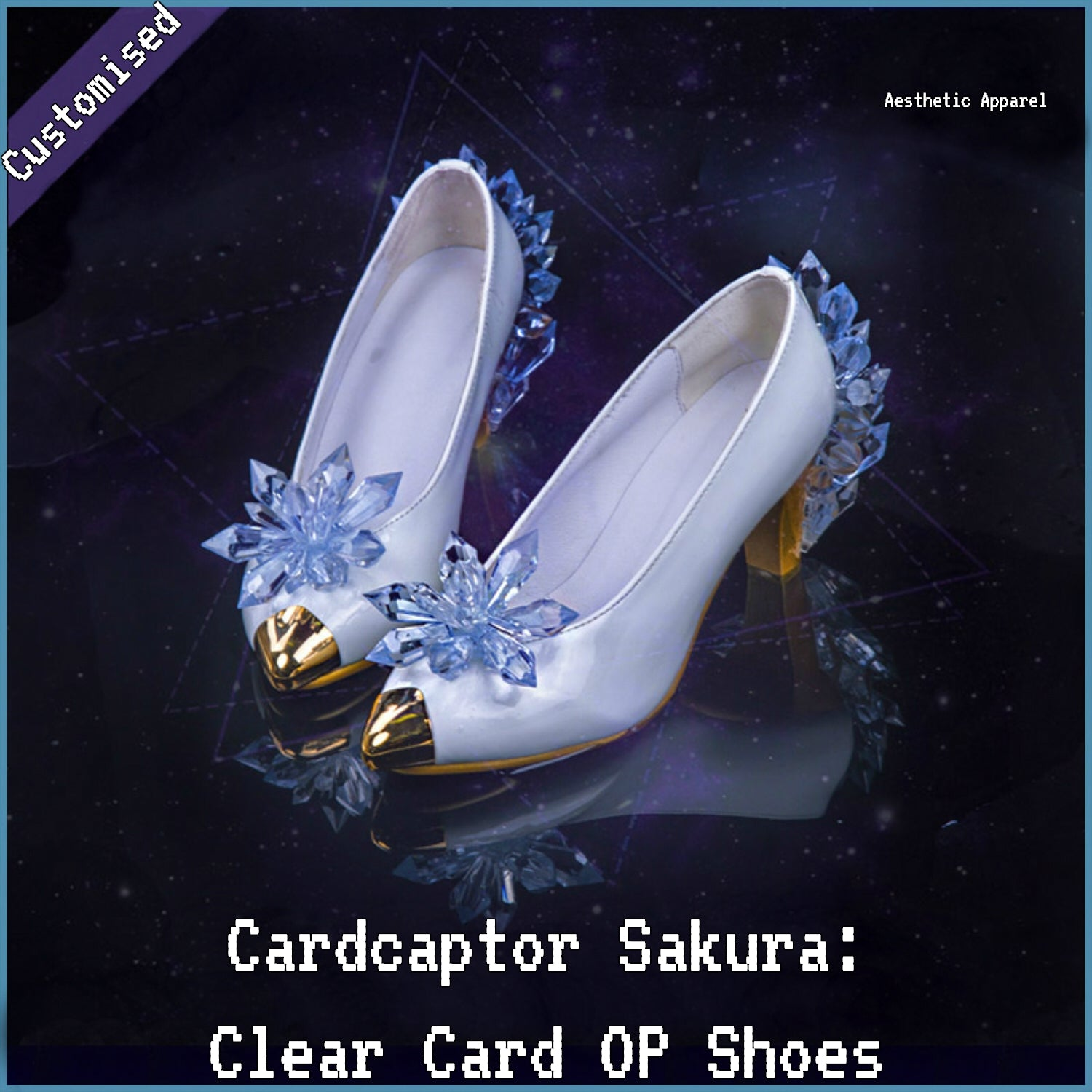Cardcaptor Sakura: Clear Card-hen OP Cosplay Shoes