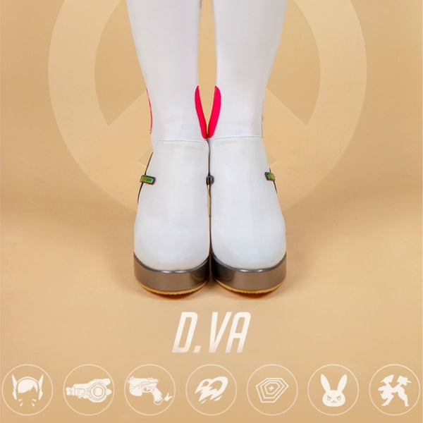 D.Va Cosplay Shoes