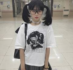 Masked Girl Shirt