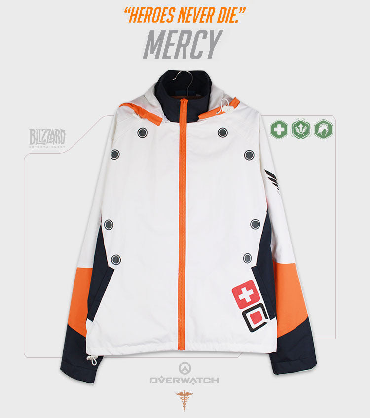 Mercy Windbreaker Jacket