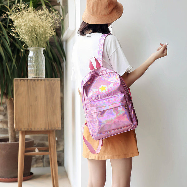 Card Captor Sakura Holographic Backpack