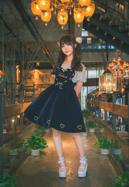 Sakura Heart Dress with Blouse