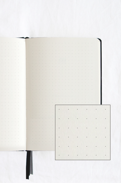 Hardcover Notebook - Dot Grid (Bullet Journal)