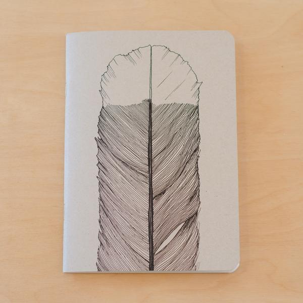 Huia Feather Notebook