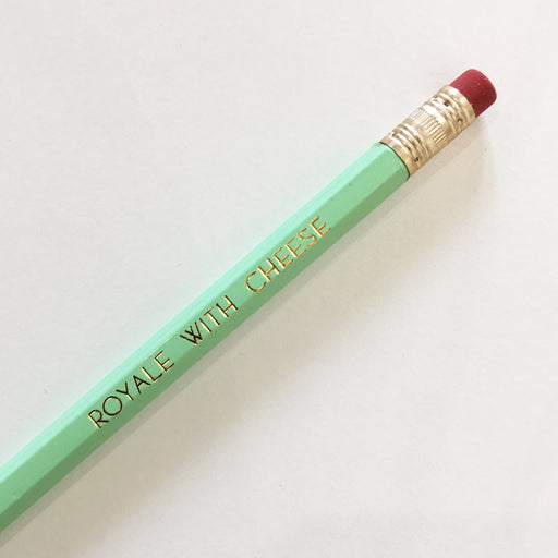 ROYALE WITH CHEESE - mint pencil