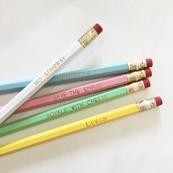 90s pencil pack