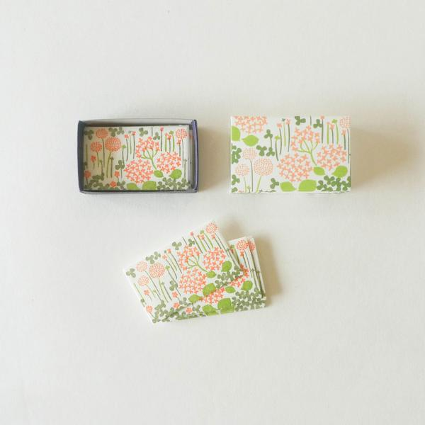 Matchbox Mini Letterpress Cards
