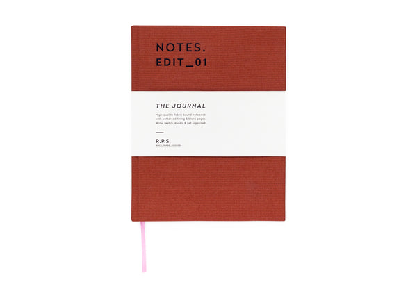 DC Journal - Rust (blank)