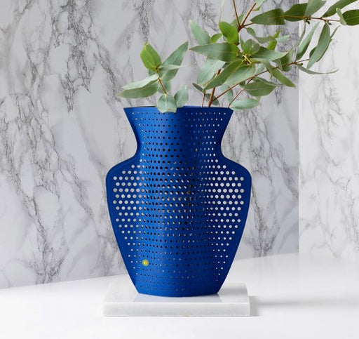 Helio Perforated Paper Vase