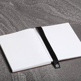 Hardcover Linen & Stone Paper Journal - Brown