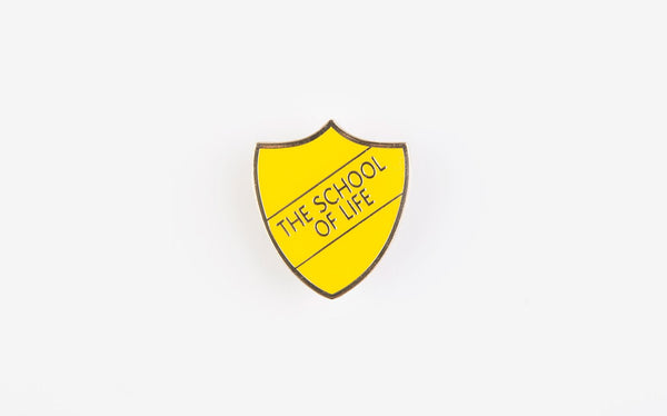 The School of Life Pin Badge