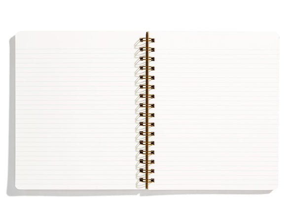 Left handed notebooks by Iron Curtain Press