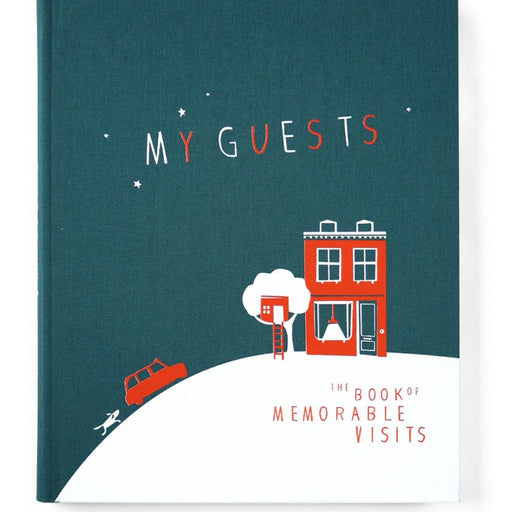 The Book of Memorable Visits Guestbook