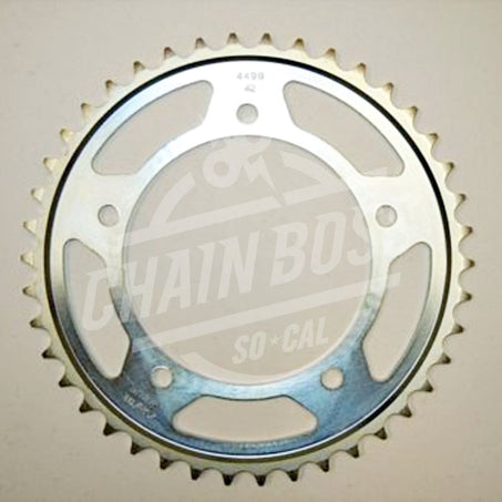 01-09 SUZUKI GSXR600: Sunstar Steel Rear Sprocket (525 / 43T)