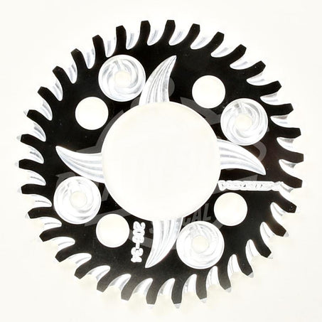 Vortex 420 Rear Sprocket CAT5 Aluminum 35 Teeth Black 206ZK-35