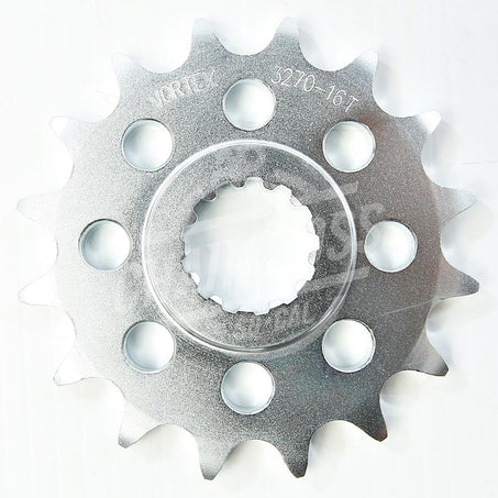 Vortex 520 Front Sprocket Steel 17 Teeth Natural 3270-17