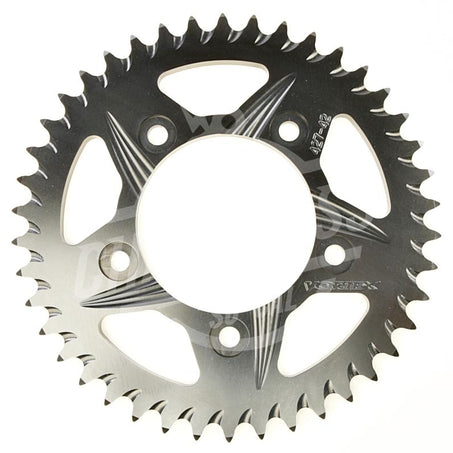 Vortex 530 Rear Sprocket F5 Hardcoat Aluminum 43 Teeth Black 427K-43
