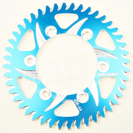Vortex 530 Rear Sprocket CAT5 Aluminum 45 Teeth Blue 438ZB-45
